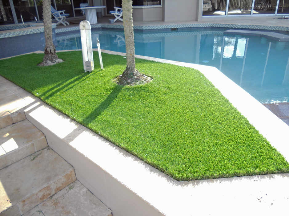 artificial turf cost johnstown ohio landscape rock backyard makeover - Synthetic Grass Cost