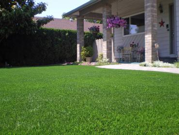 Artificial Grass Photos: Artificial Grass Installation Brinkhaven, Ohio Lawn And Landscape, Front Yard Ideas