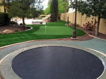 Artificial Grass Photos: Artificial Lawn Belle Center, Ohio Landscaping Business, Backyard Landscape Ideas