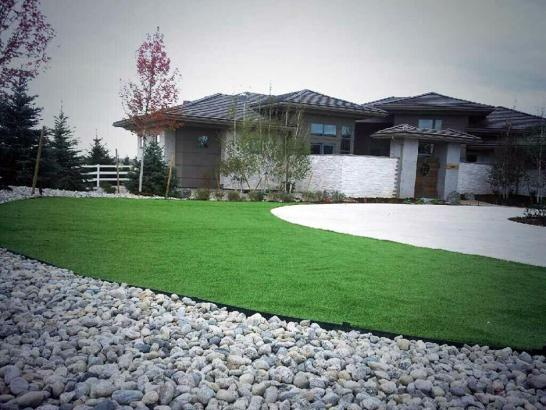 Artificial Grass Photos: Artificial Turf Installation Green Meadows, Ohio Landscape Ideas, Small Front Yard Landscaping