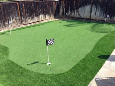 Artificial Grass Photos: Artificial Turf Installation Stoutsville, Ohio Indoor Putting Green, Backyard Designs