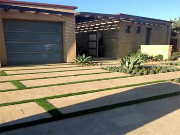 Artificial Grass Photos: Fake Grass Carpet Sinking Spring, Ohio Rooftop, Front Yard