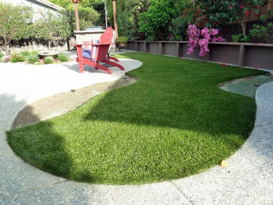 Artificial Grass Photos: Fake Grass The Plains, Ohio Paver Patio, Backyard Landscaping