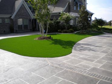 Artificial Grass Photos: Fake Turf Stockdale, Ohio Landscape Design, Front Yard Landscape Ideas