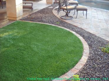 Grass Turf Minerva Park, Ohio Rooftop, Front Yard Design artificial grass