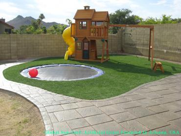 Artificial Grass Photos: Outdoor Carpet Riverlea, Ohio Backyard Deck Ideas, Backyard Landscaping