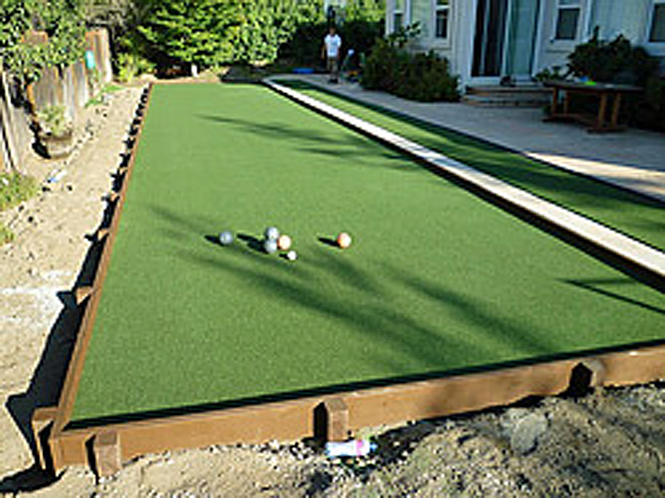 Synthetic Grass Cost Howard, Ohio Bocce Ball Court, Backyard Ideas