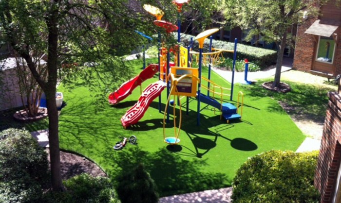 Artificial Grass for Playgrounds in Columbus